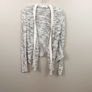 Anthropologie Moth bumpy textured cardigan